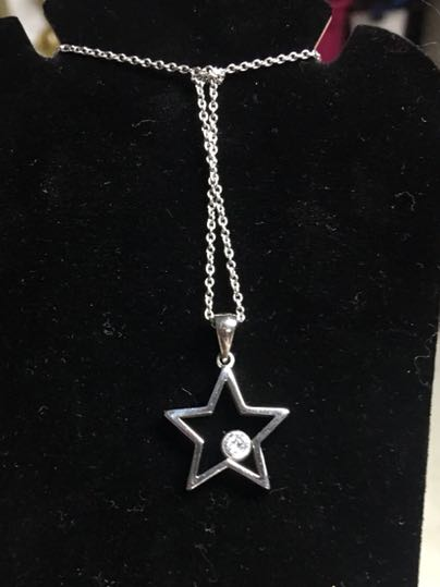 Star Diamond Necklace