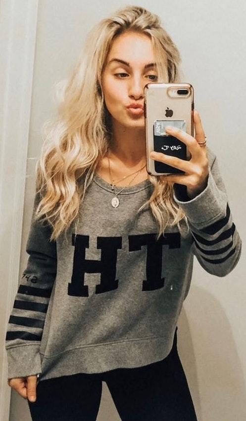 Tommy Hilfiger Sweatshirt Crop Top