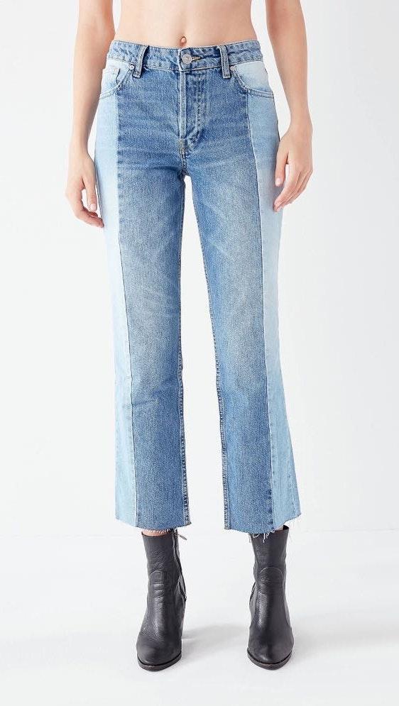 BDG High-Rise Straight + Narrow Jean