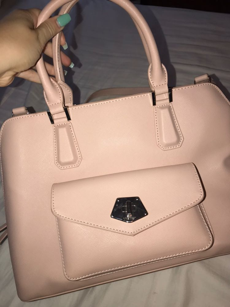 Nine West pink leather purse