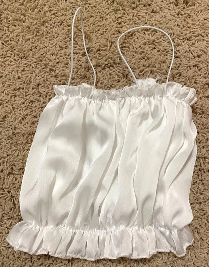 Cupshe white crop top