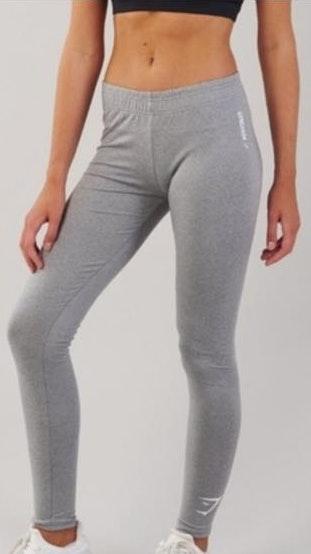 Gymshark Ark Jersey Legging Light Grey Marl Medium