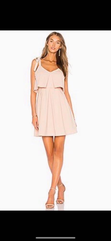 J.O.A Pink Mini Dress