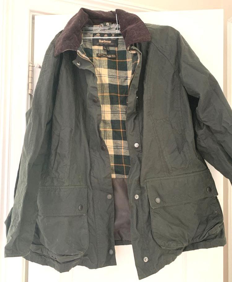 Barbour Green  jacket