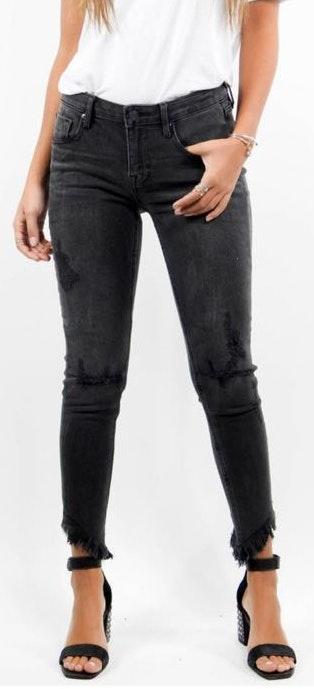 Vigoss Black Ripped Jeans