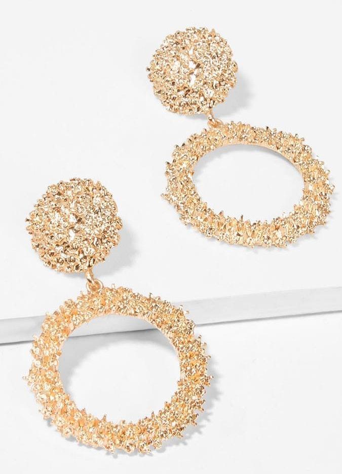 BaubleBar Rose gold Statement Earrings