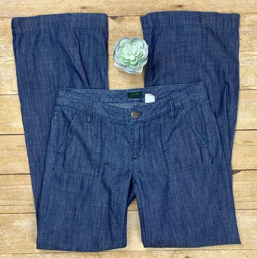J.Crew City Fit Flare Denim Jeans