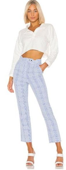Lovers + Friends Collins Pants In Baby Blue