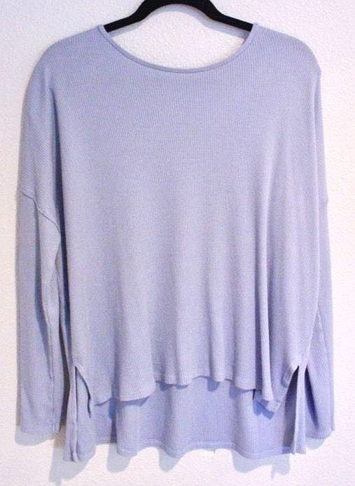 Aerie Light Blue/Lilac Sweater Pullover