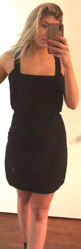 Tobi Black Fitted Dress