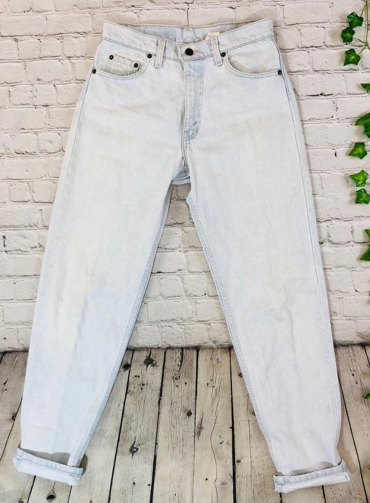 Levi's Vintage Levis 550 High Rise Tapered Wedgie Mom Jeans