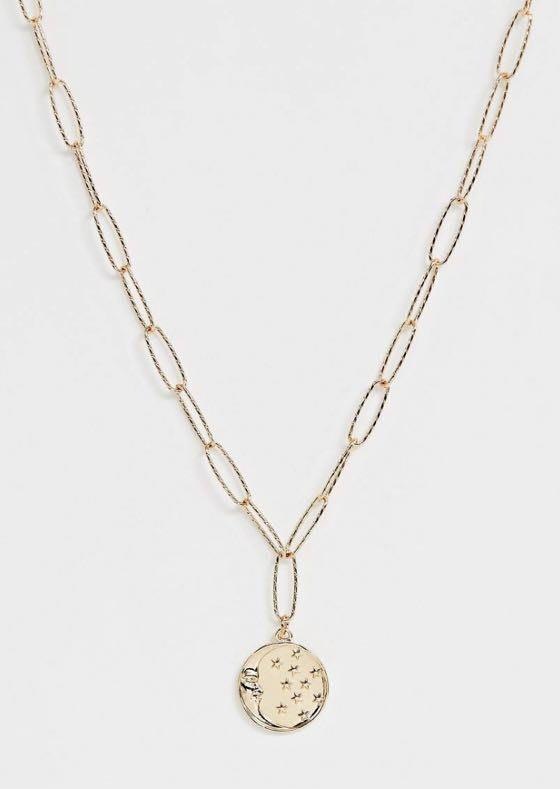 ASOS Moon Coin Necklace