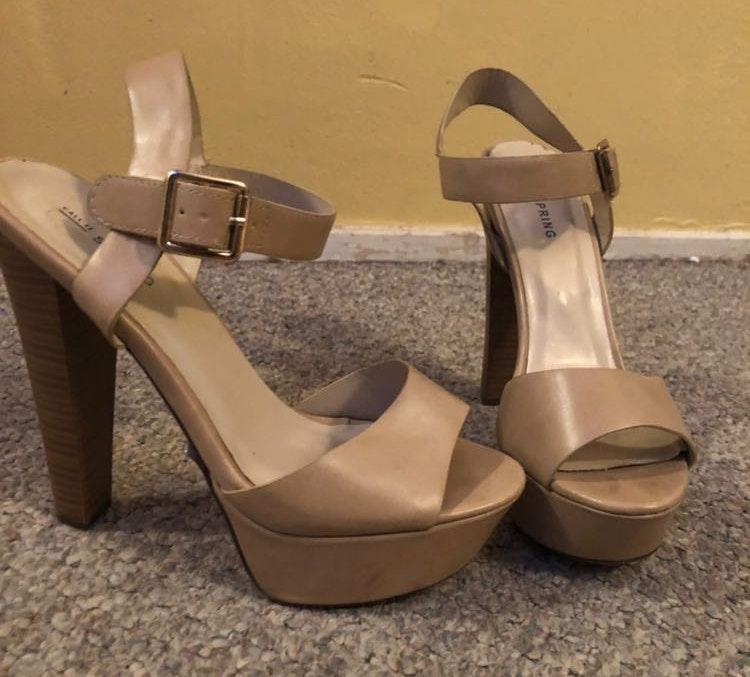 436a899c742 Call it spring Nude High Heels