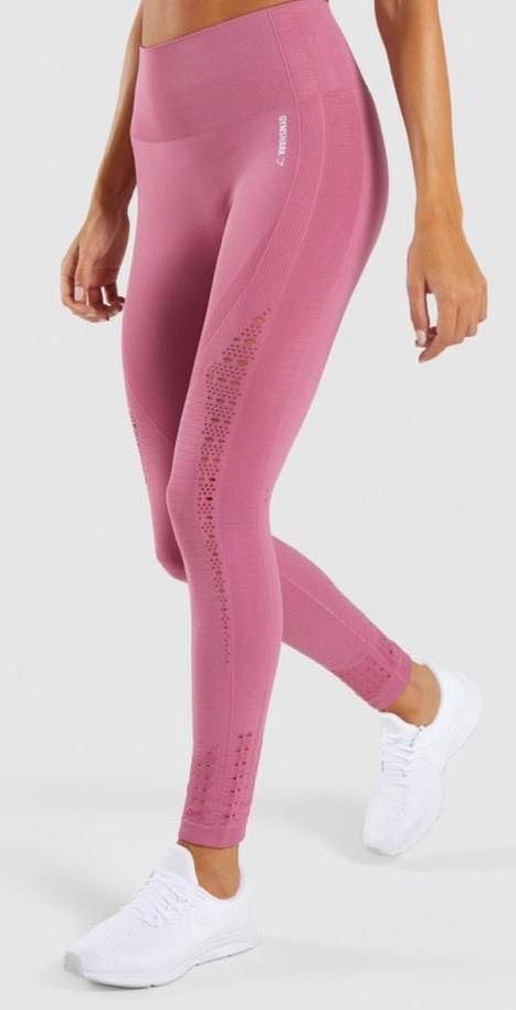 Gymshark Dusky Pink Energy Leggings