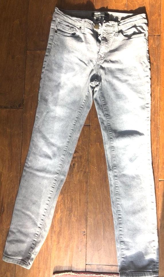 BDG Grey Ankle Skinny Jeans