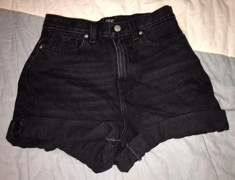 Urban Outfitters Black Mom Shorts