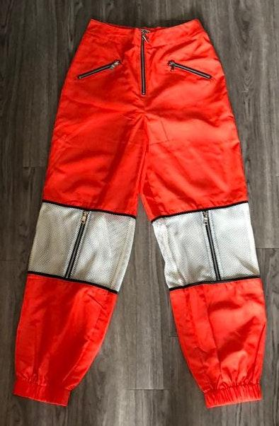 i.am.gia Orange Mesh Fashion Pants