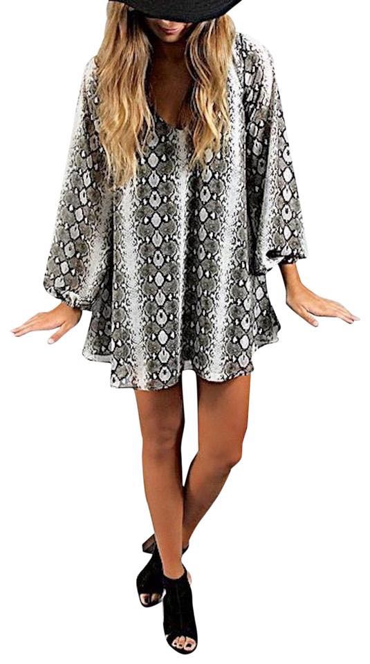 Show Me Your Mumu Snakeskin Dress