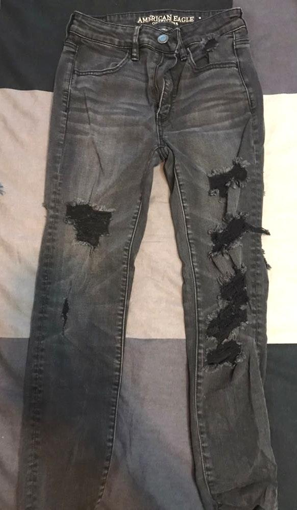 American Eagle Outfitters Black Pants