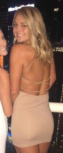 Tiger Mist Tan Dress