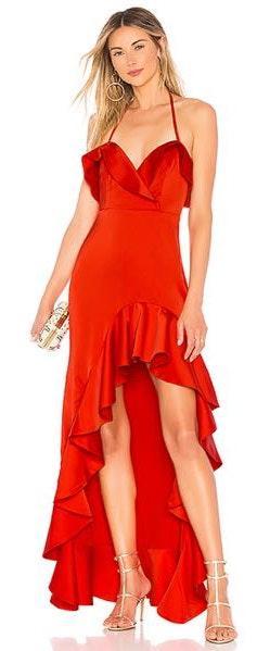Chrissy Teigen X REVOLVE Red Maxi Dress