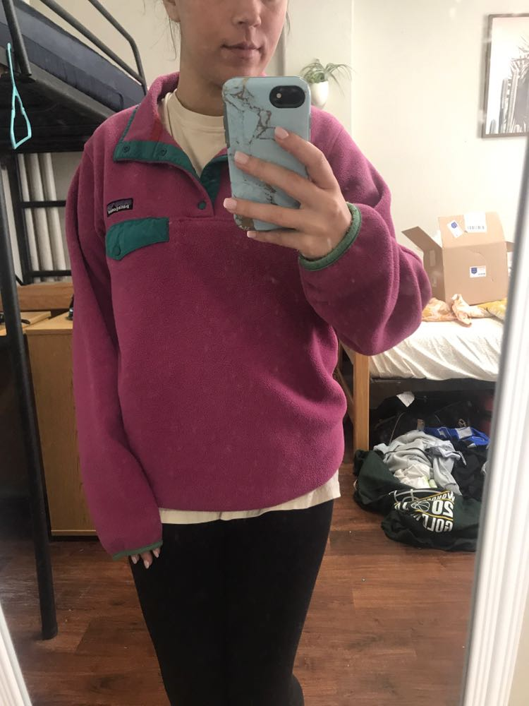 Patagonia Purple And Real Pullover