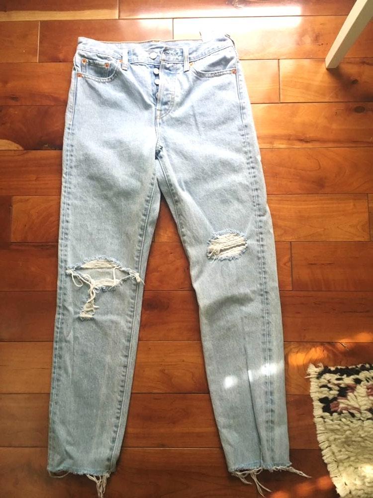 Levi's women's 501 mom jeans