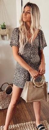 Vestique Leopard Romper