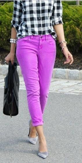 J.Crew Pink /purple Corduroy Pants