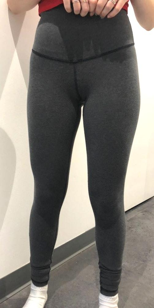 Lululemon Gray Hi-Rise  Leggings
