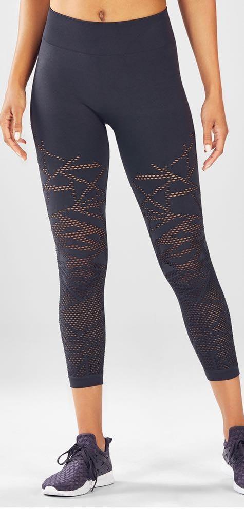 Fabletics charcoal gray leggings