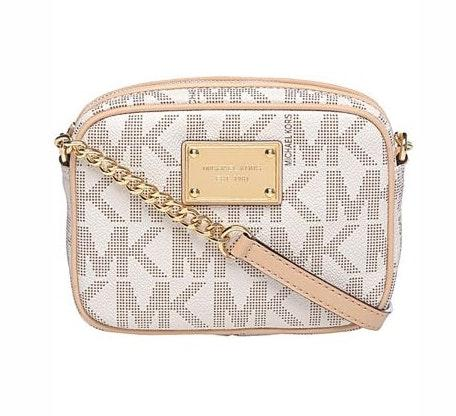 Michael Kors White Crossbody