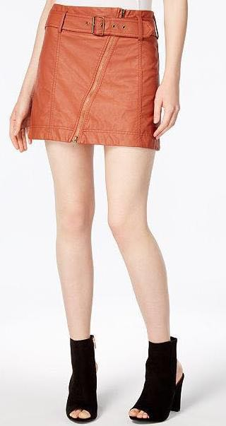 2f89d65b9c81 Free People Rust Vegan Skirt | Curtsy