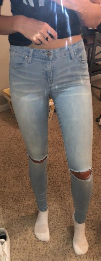 Celebrity Pink Light Wash Jeans