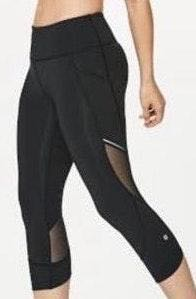 Lululemon Black Running Leggings