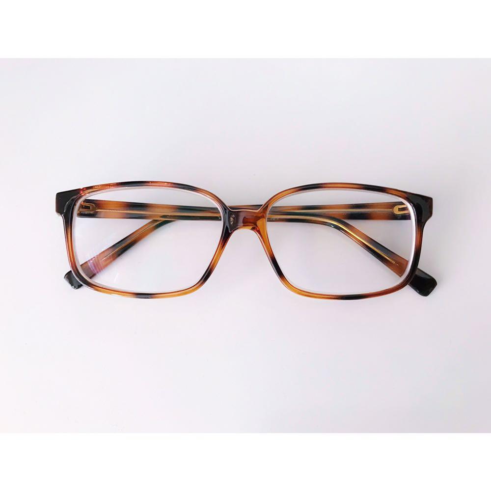 Tortoiseshell prescription eyeglasses