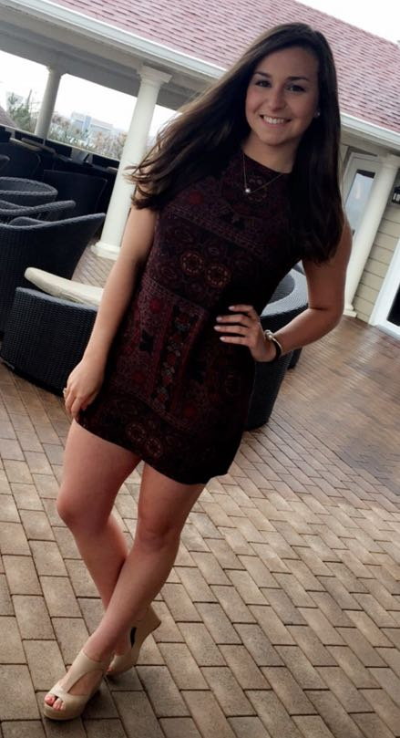 Ecote Urban Outfitters Patterned Dress