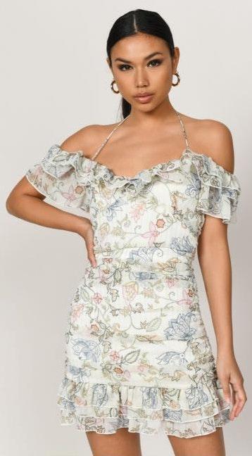 Tobi Ruffle Dress