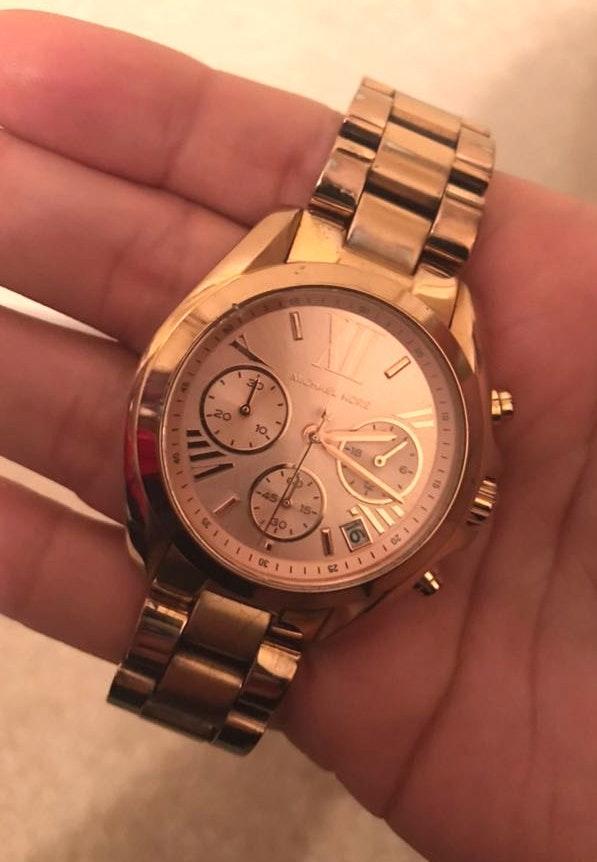 Michael Kors MK Gold Watch