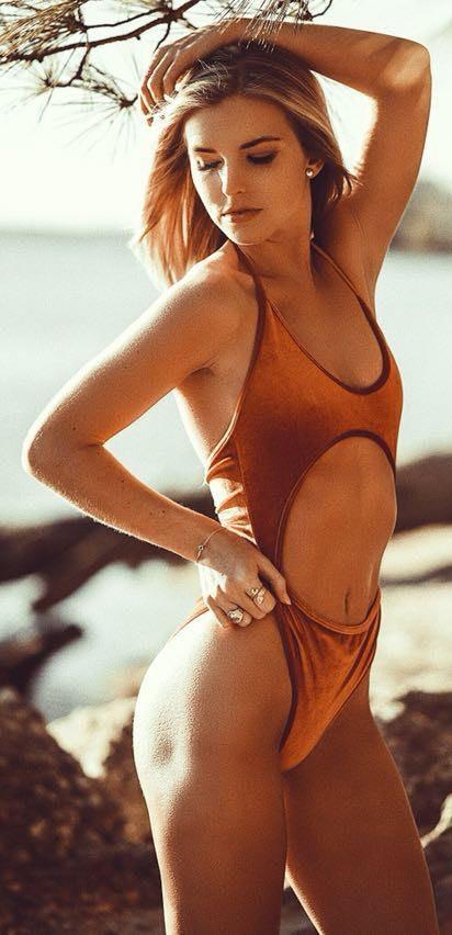 Zaful Velvet Bikini