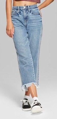 Wild Fable High Waisted Ankle Jeans