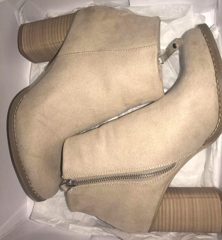 Dolce Vita Suede Sand Booties