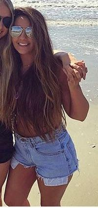 Levi's levis high waisted shorts