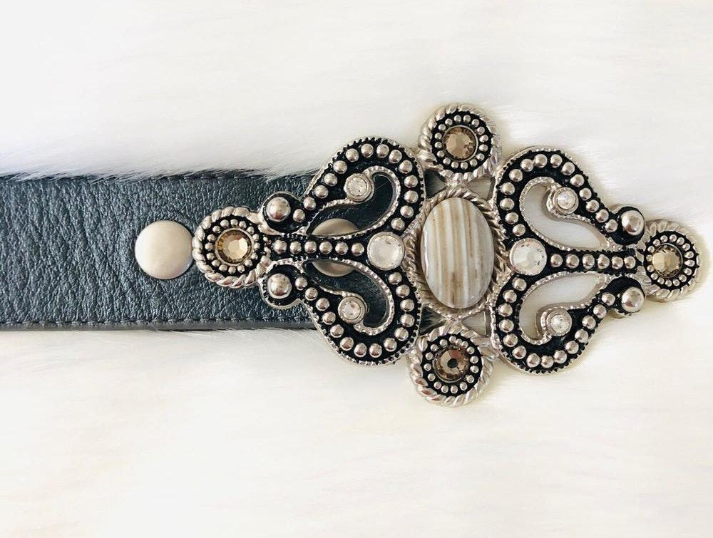 LeatherRock western genuine leather belt