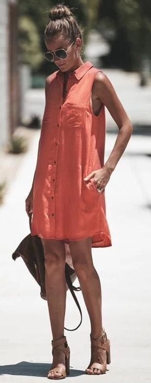 Boutique Cotton Linen Loose Pocket Dress..