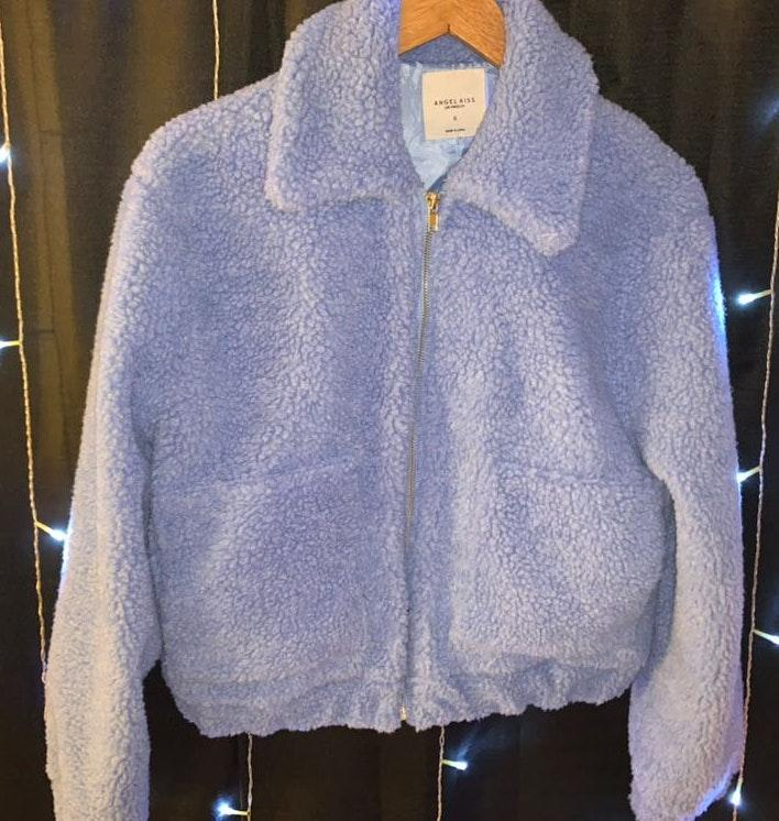 zumiez Fuzzy Zip Up