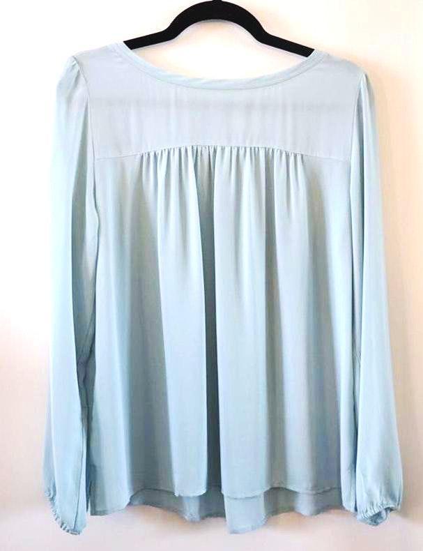 Loft Sky Blue Long Sleeved Shirt