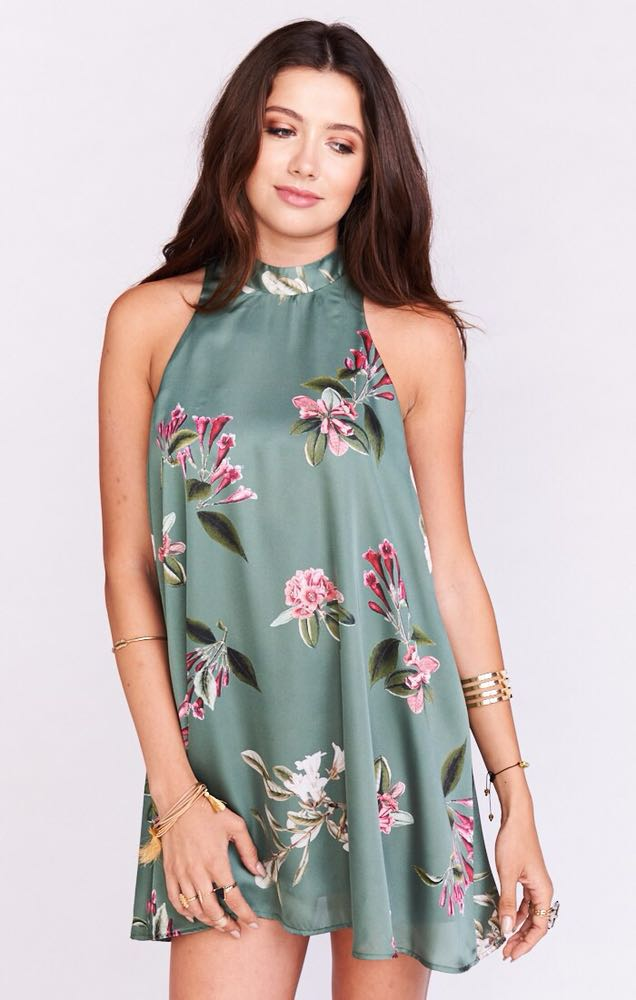 Show Me Your Mumu V right back dress in Laura Floral