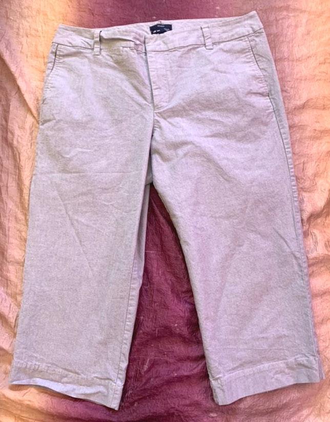 Gap Curvy Fit Stretch Capri Pants