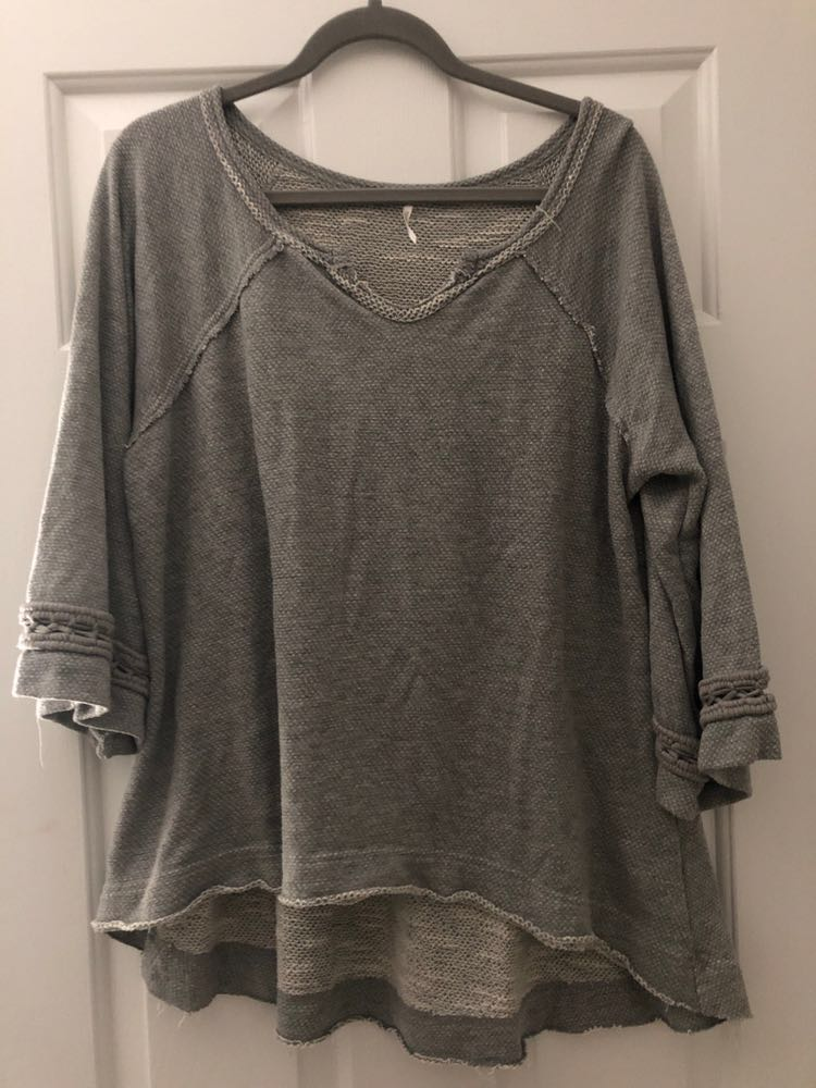 Free People Grey Sweater